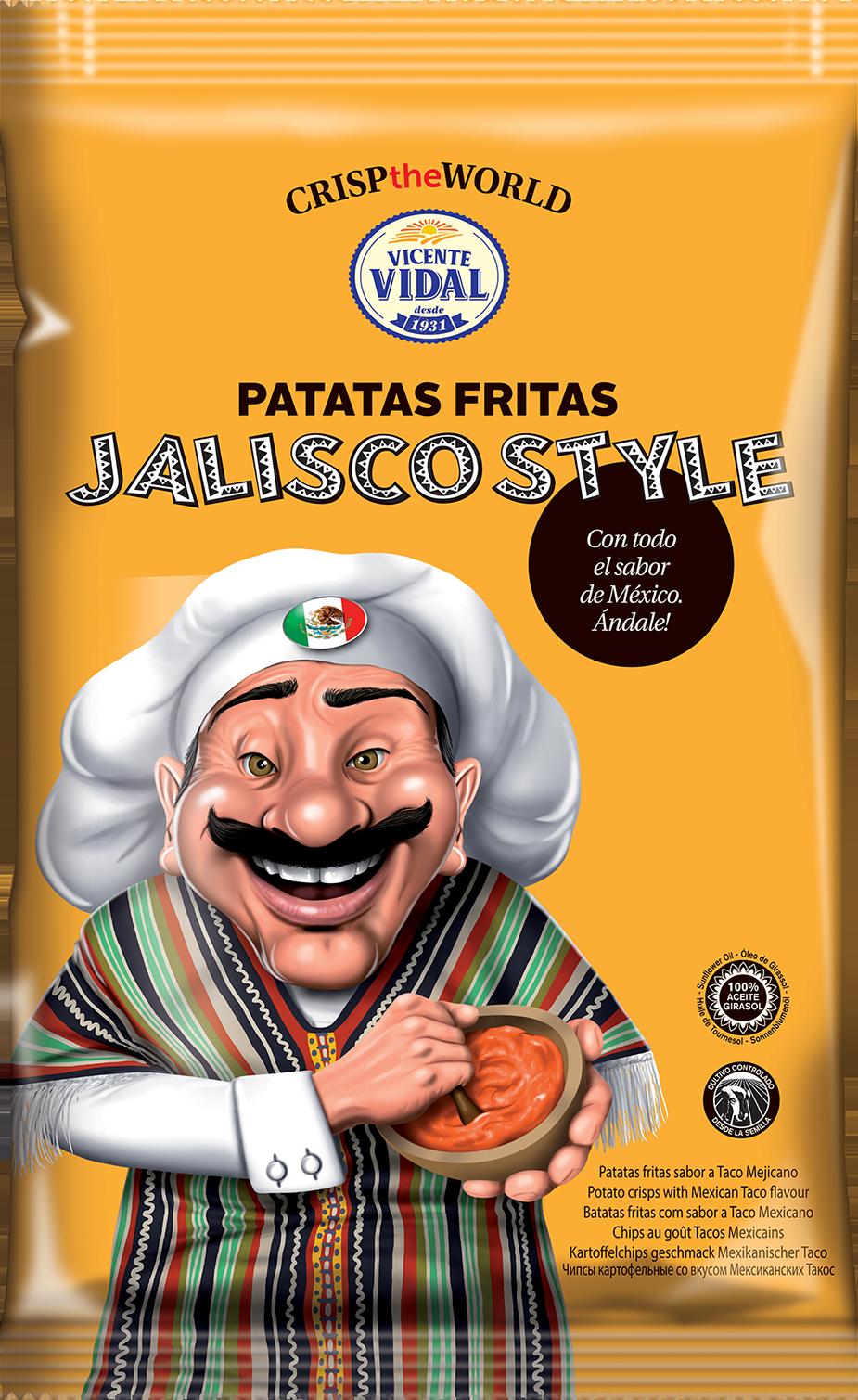 3D CrispTheWorld Jalisco 120g