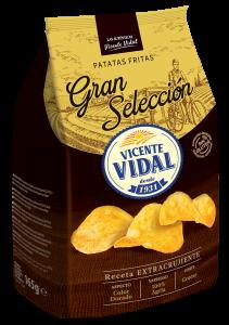 olive oil potato crisps
