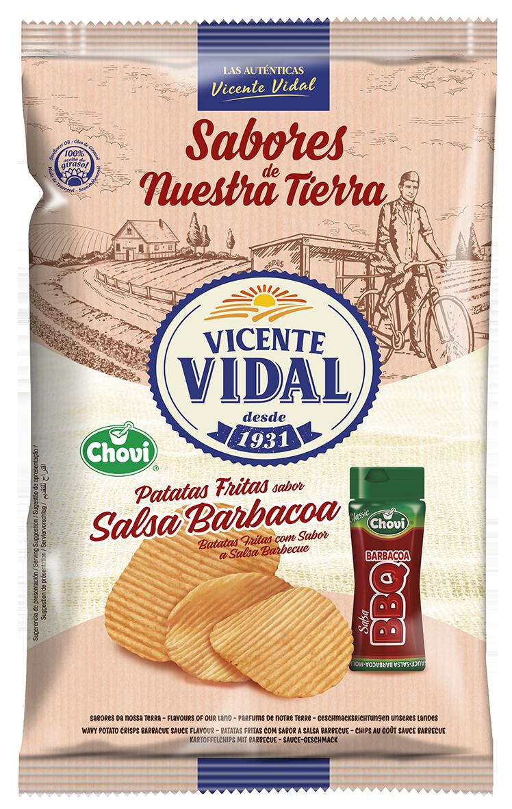 3D Patatas Fritas Vidal BBQ